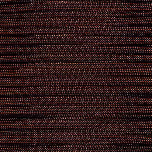 Rust with Black Stripes - 550 Paracord - 100 Feet