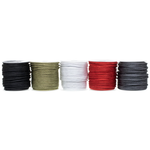 5 Spool of 100 Feet of 550 Polyester - Iron