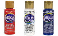 Product Feature- DecoArt Americana Red White and Blue Acrylic Paint Kit
