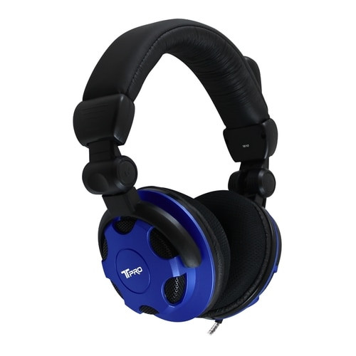 On-ear cup volume control knob to eliminate accidental volume changes during testing