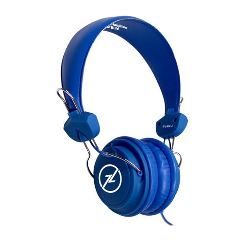 HamiltonBuhl Favoritz TRRS Headset with In-Line Microphone - Blue