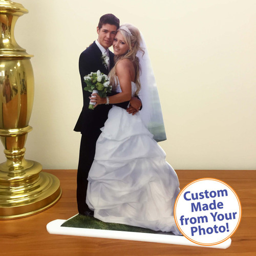 Centerpieces, Double-Sided Custom Acrylic Photo Statuettes, Photo Cut Outs, Photo Cutouts,  Photo Sculptures