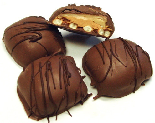DiabeticFriendly's Pretzel, Peanuts, Peanut Butter & Caramel Covered in Sugar Free Milk Chocolate  About 1.2 lbs