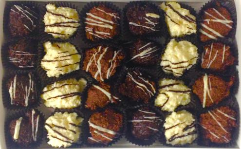 Sugar free Chocolate haystacks (coconut)