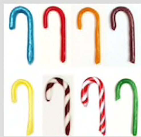 MIX or MATCH SINGLE Sugar Free Candy Canes