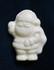 Mini White Chocolate .4 oz Sugar Free Santa, Individually Wrapped (set of 4)