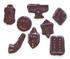 Judaic Symbols in Sugar Free Chocolates, 8 oz, in mylar bag, assorted designs