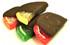Sugar Free Fruit Slices, Hand Dipped in Milk, Dark or White Sugar Free Chocolate