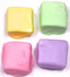Sugar Free Chocolate Covered Marshmallows, Easter Pastel Colors, Set of 4, Acetate Bagged  2.2 oz