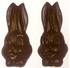 Diabeticfriendly's Sugar Free Chocolate Rabbit Head, Set of 2