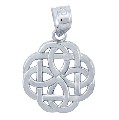 925 Sterling Silver Trinity Celtic Pendant