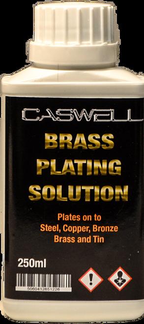 Plug N' Plate Brass Solution (250ml)