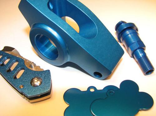 Electric Blue Anodizing Dye