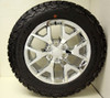 """Chrome 20"""" Honeycomb Wheels with BFG KO2 A/T Tires for Chevy Silverado, Tahoe, Suburban - New Set of 4"""