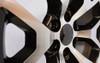 "Black and Machine 22"" Honeycomb Wheels for GMC Sierra, Yukon, Denali - New Set of 4"