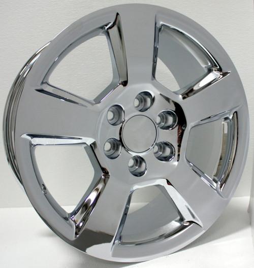 "Chrome 20"" New Style LTZ Wheels for Chevy Silverado, Tahoe, Suburban - New Set of 4"