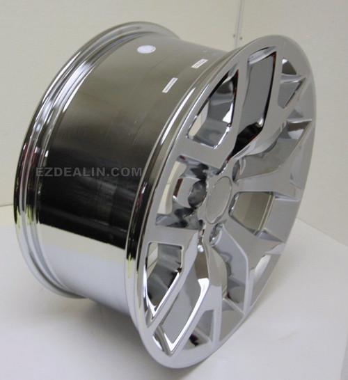 "Chrome 20"" Honeycomb Wheels for Chevy Silverado, Tahoe, Suburban - New Set of 4"