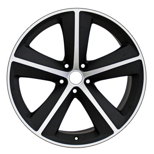 """Set Of Four 20"""" Dodge Charger/Challenger Satin Black And Machine Wheels Rims"""