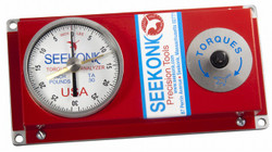 Seekonk 1/4'' Dr 0-30 Inch Pound Torque Tester With Memory Needle - TA-30