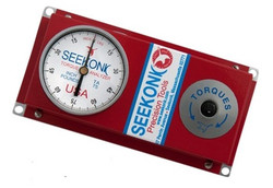 Seekonk 1/4'' Dr 0-75 Inch Pound Torque Tester With Memory Needle - TA-75