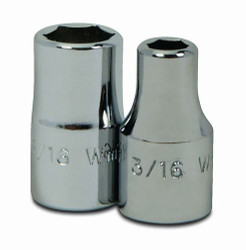 "5/32"" Williams 1/4"" Dr Shallow Socket 6 Pt - M-605"