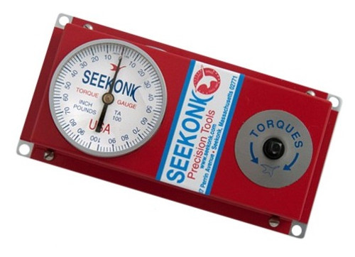 Seekonk 1/4'' Dr 0-100 Inch Pound Torque Tester With Memory Needle - TA-100