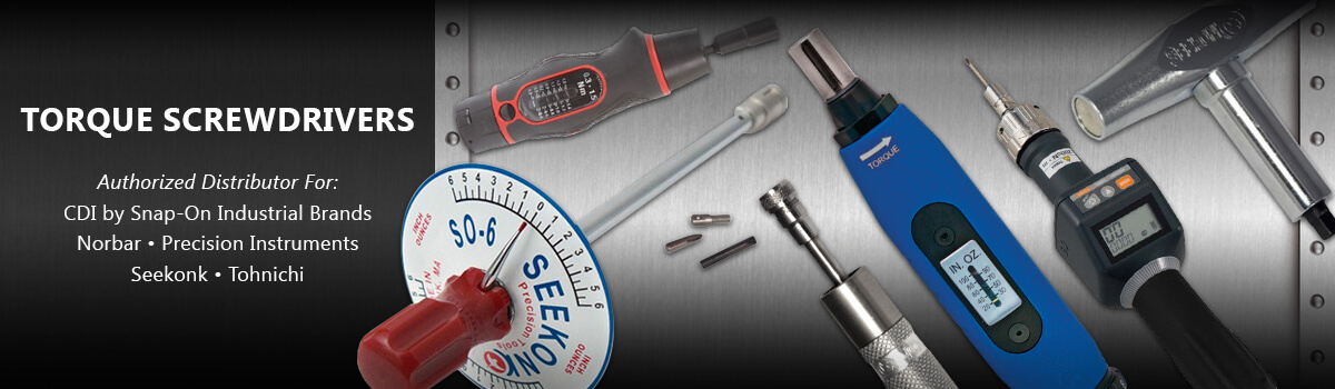 Torque Screwdrivers CDI, Norbar, Seekonk, Tohnichi