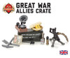 Great War Allies Crate with Vickers Machine Gun