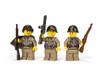 WWII Russian Infantry Early War - Squad Pack - Stickers