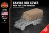 Canvas Bed Cover - Pack for CCKW (BKM2191)