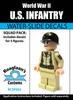 World War II US Infantry Squad Pack - Water-Slide Decals