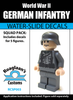 World War II German Infantry Squad Pack - Water-Slide Decals