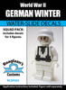 World War II German Winter Cammo Squad Pack - Water-Slide Decals