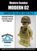 Modern Soldier 02 - Water-Slide Decals