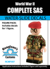 SAS Camouflage Complete Minifig Set - Water-Slide Decals