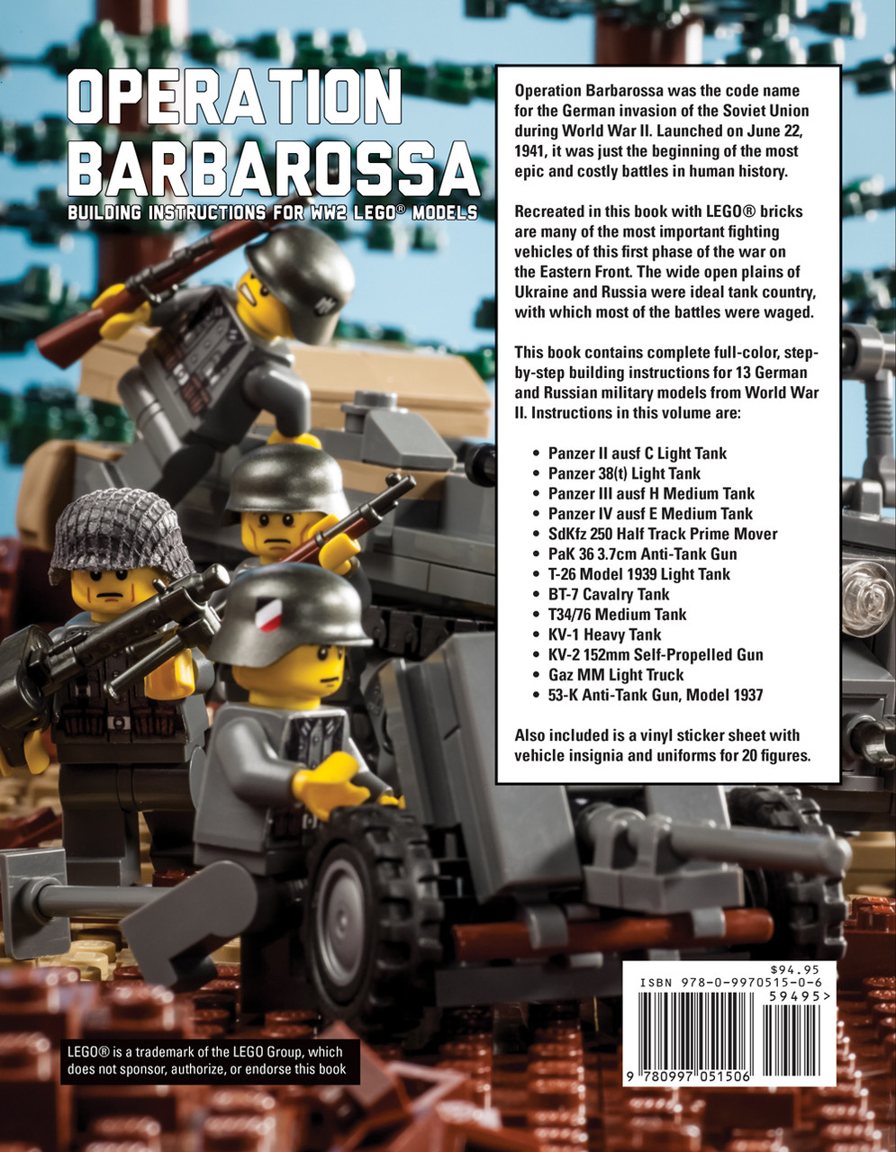 Operation Barbarossa Building Instructions For Wwii Lego Models