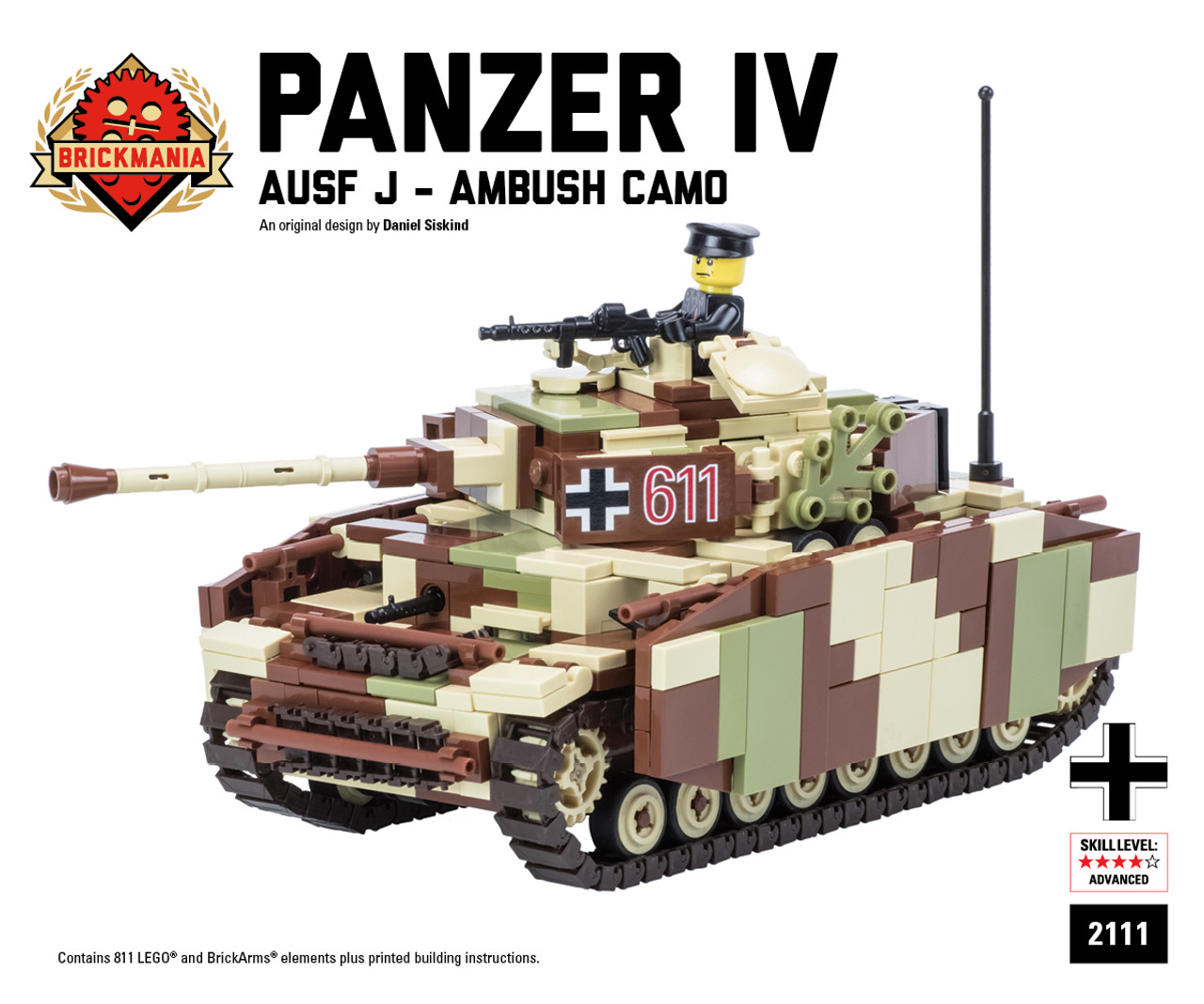 Panzer IV Ausf J - Ambush Camo