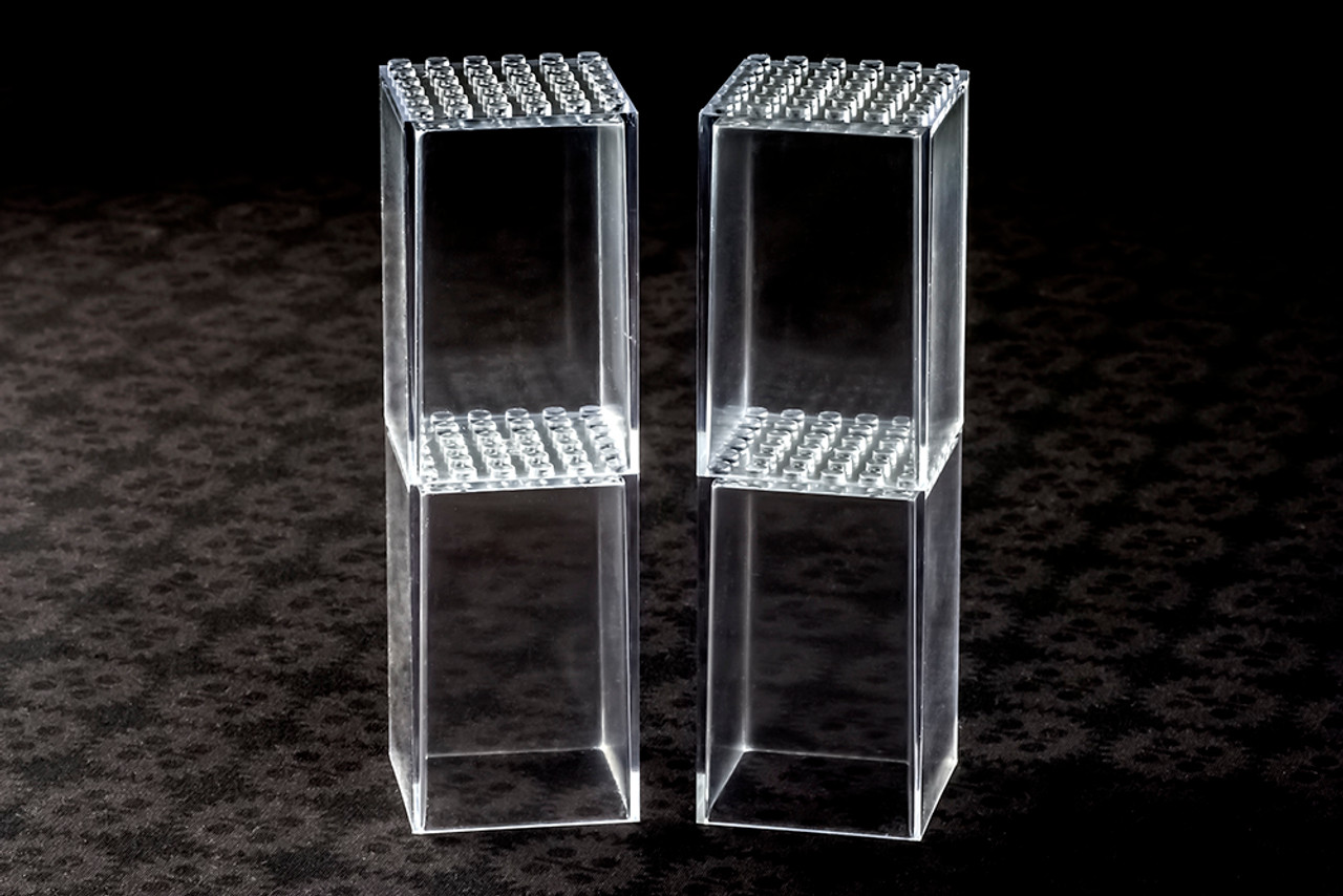 FaBiOX 6x6 studs (Single)-Transparent Boxes for Minifigures