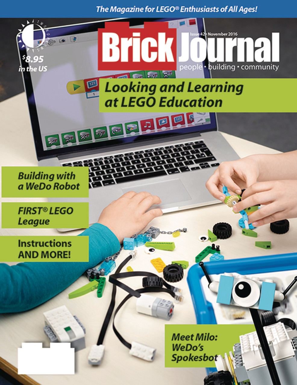 Brickjournal Issue 42 November 2016 Brickmania Toys