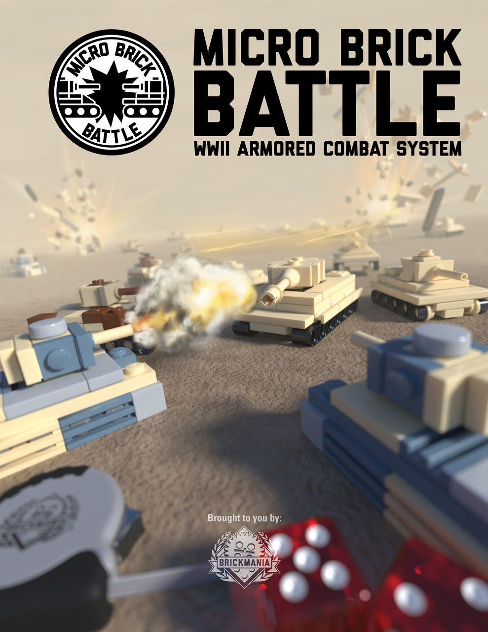 Micro Brick Battle - WWII Armored Combat System Book