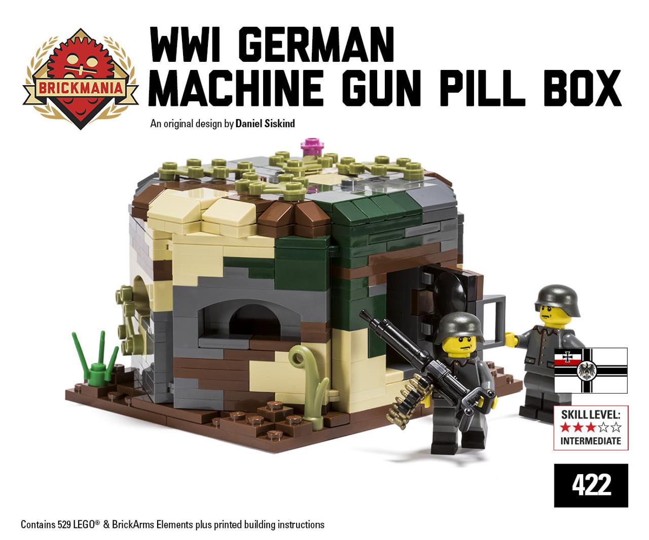 Western Bedroom Tank Toy Box Or: WWI German Machine Gun Pillbox