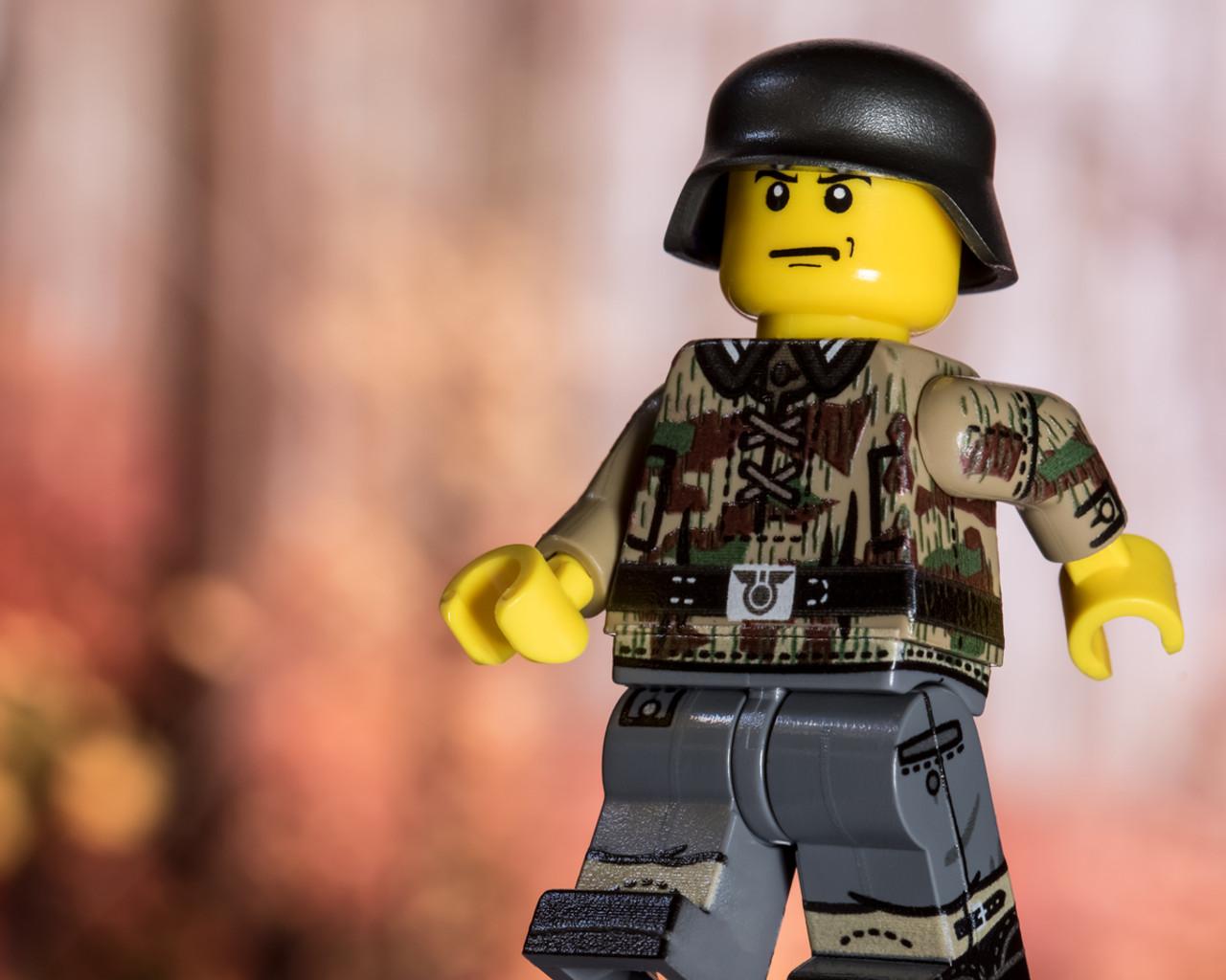 WWII German Infantry - Splinter Camo Smock