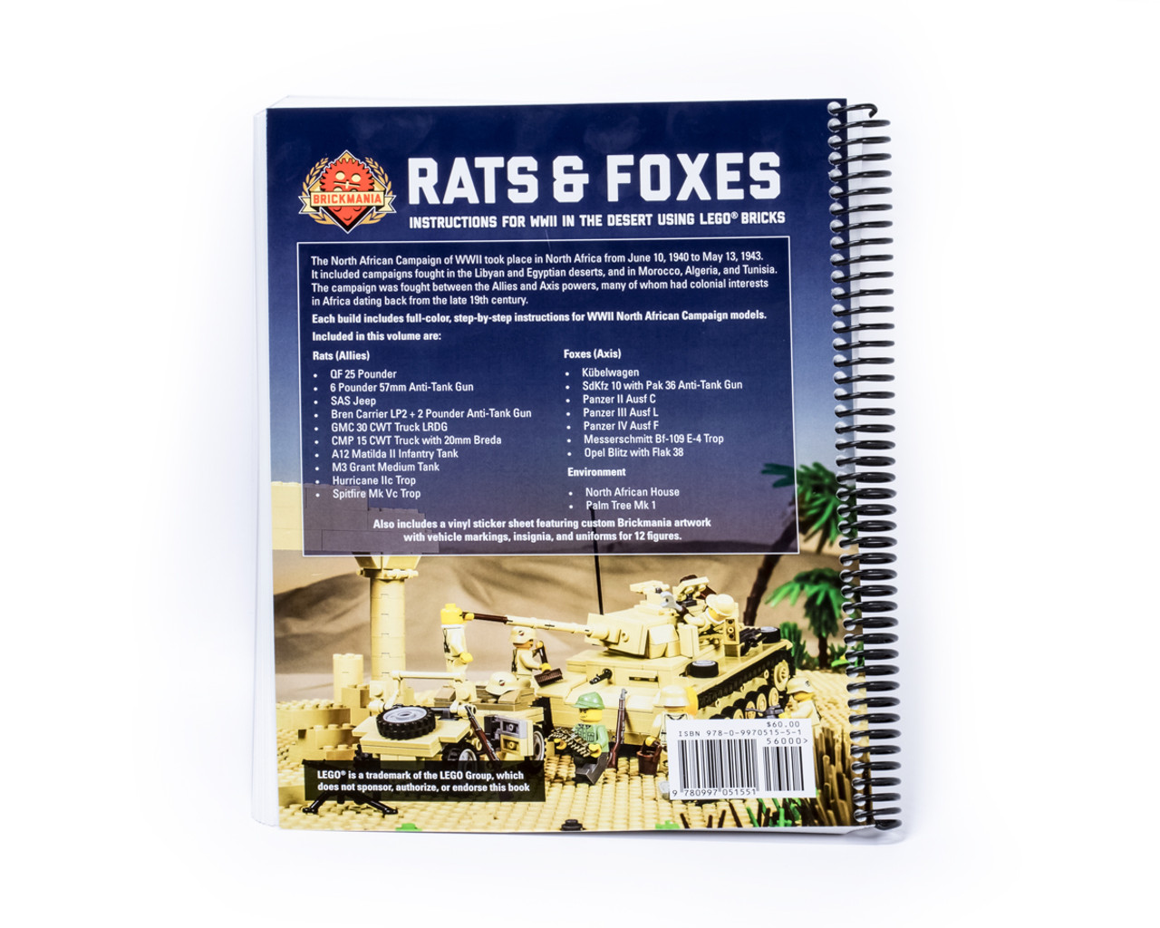 Rats And Foxes Building Instructions For Wwii In The Desert Using
