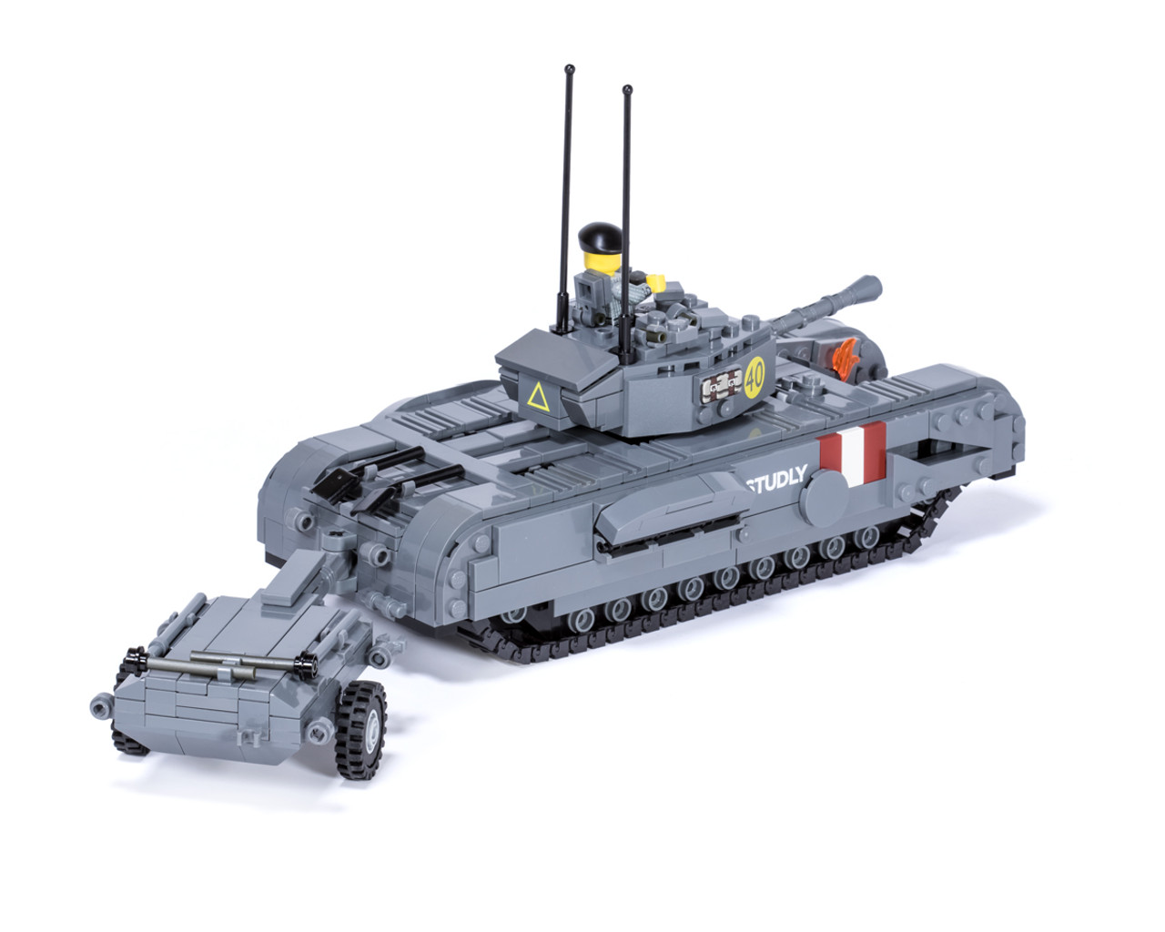 Churchill Crocodile Heavy Tank