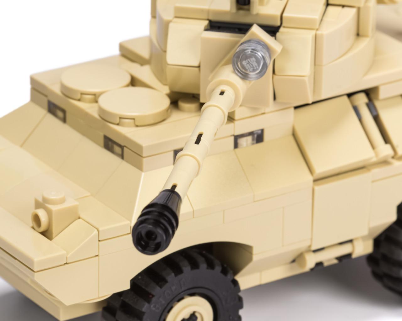 V-150 Commando - 4x4 Amphibious Armored Vehicle with 90mm Gun