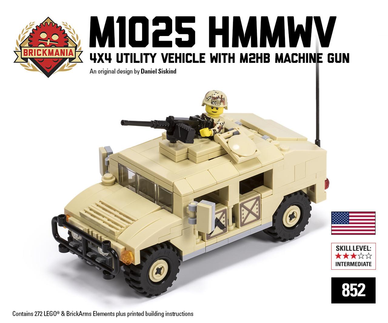 M1025 HMMWV - 4x4 Utility Vehicle with M2HB Machine Gun