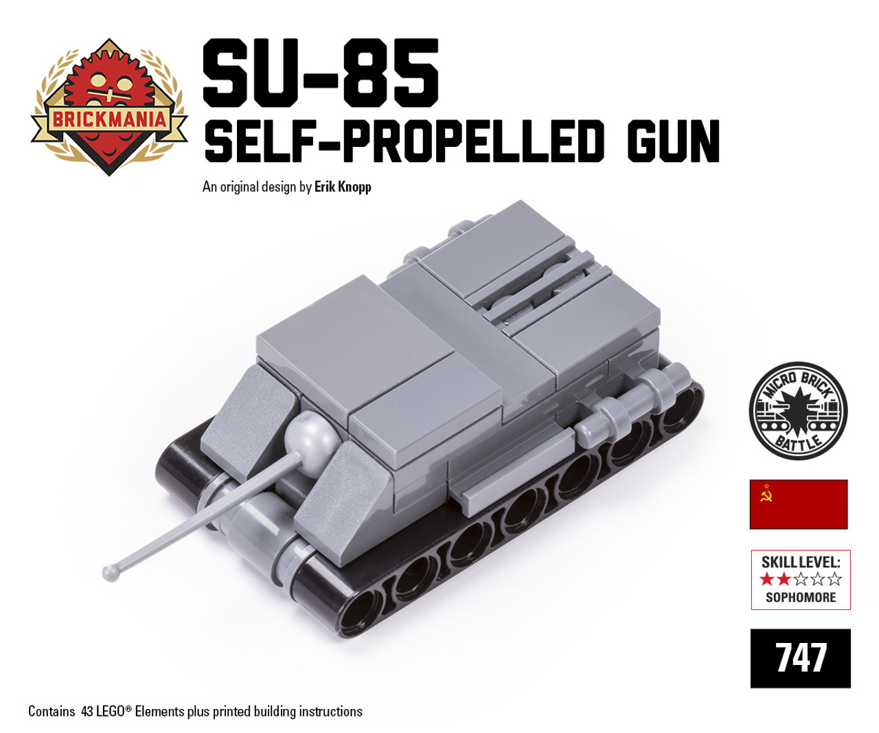 Micro Brick Battle - SU-85
