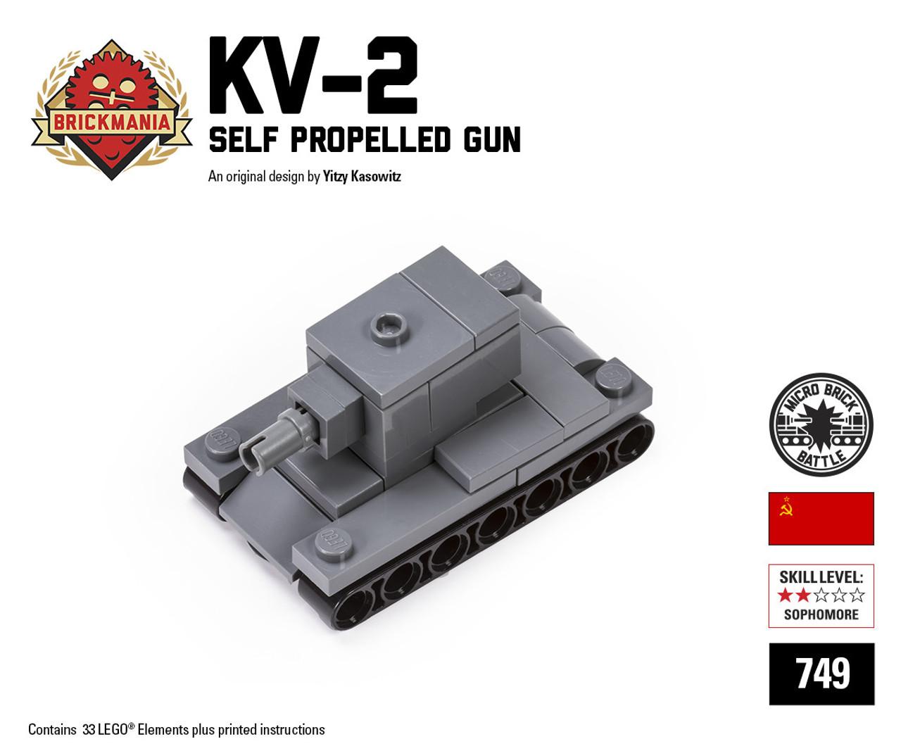 Micro Brick Battle Kv 2 Brickmania Toys
