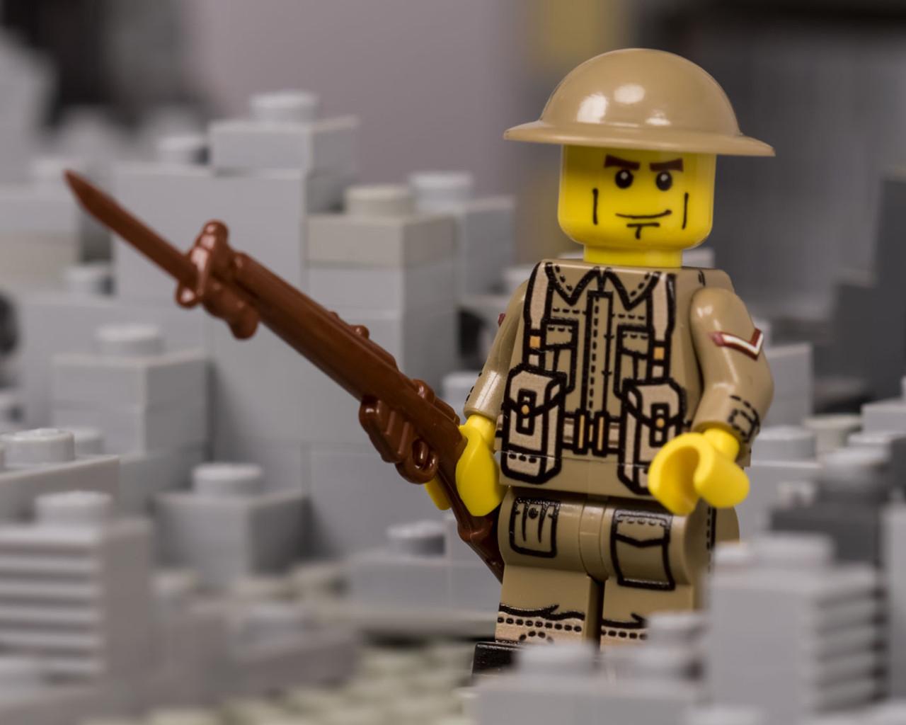 WWII British Infantry V2