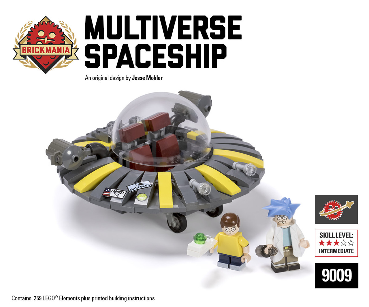 Multiverse Spaceship Brickmania Toys
